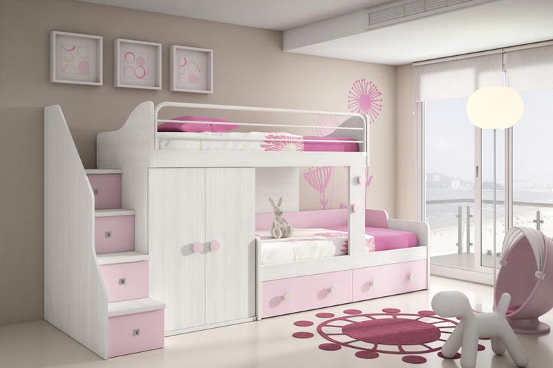 dormitorios juveniles camas tren muebles ib ez tienda