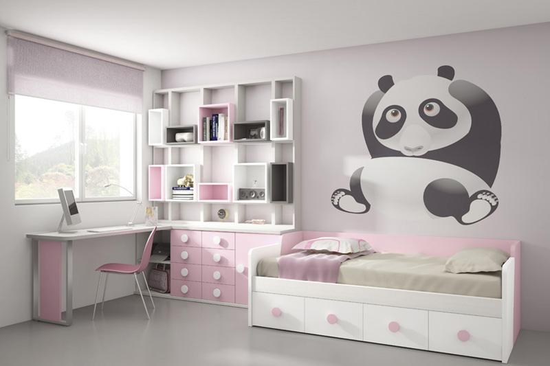 Dormitorios juveniles nidos muebles ib ez tienda de - Dormitorios juveniles ninas ...