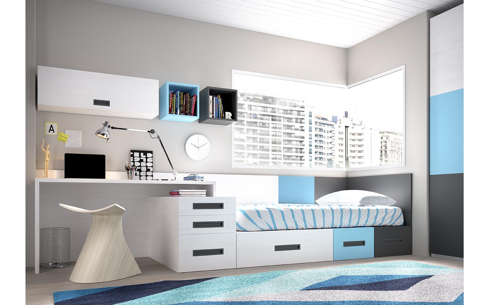 Dormitorios Juveniles Nidos Muebles Ib Ez Tienda De Muebles  # Muebles Dormitorios