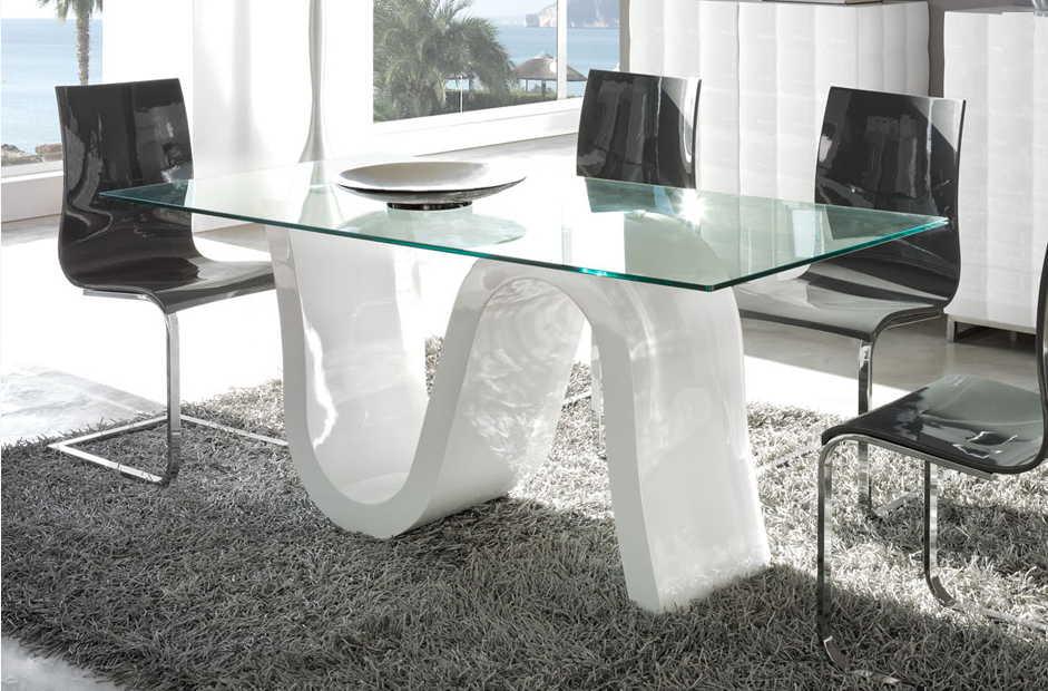 Mesas comedor y sillas mesas de comedor muebles ib ez for Mesas ovaladas para comedor