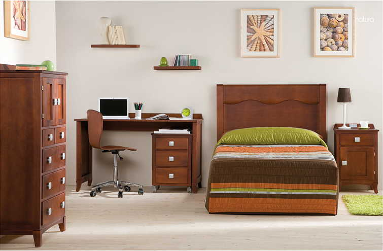 Dormitorios juveniles colonial madera muebles ib ez for Muebles torre pacheco