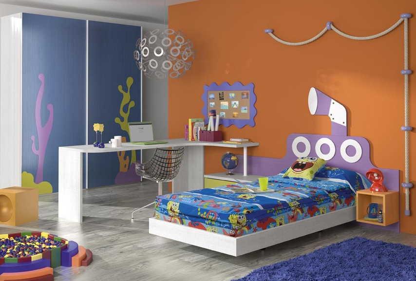 Dormitorios juveniles camas muebles ib ez tienda de for Dormitorio animado